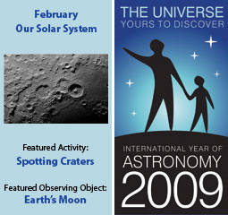 ~February 2009 IYA Discovery Guide: <br> <b>Our Solar System</b>